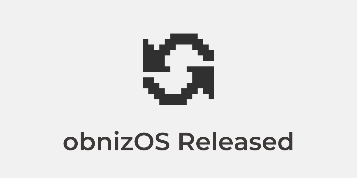 obnizOS 3.2.1 Released