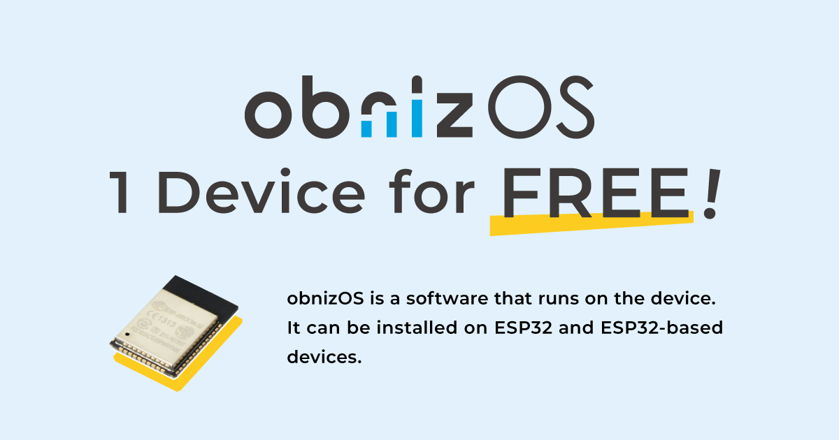 obnizOS is now free!
